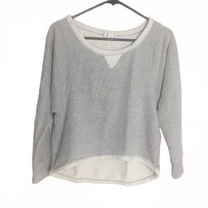 Just Ginger Gray Sweater